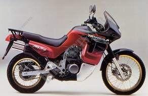Copertura Lato Chassis Xl600vr 1994 Transalp 600 Moto Honda