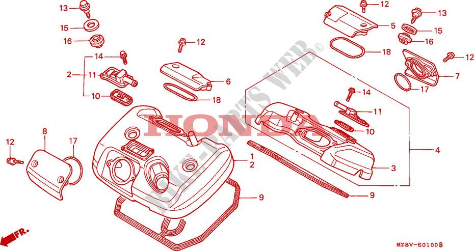 Bianco Cornice Sostituzione del Collo Copertura del Cappuccio per Il Collo per Shadow VT600 VT 600 VLX 600 STEED400 Motorcycle ABS plastica